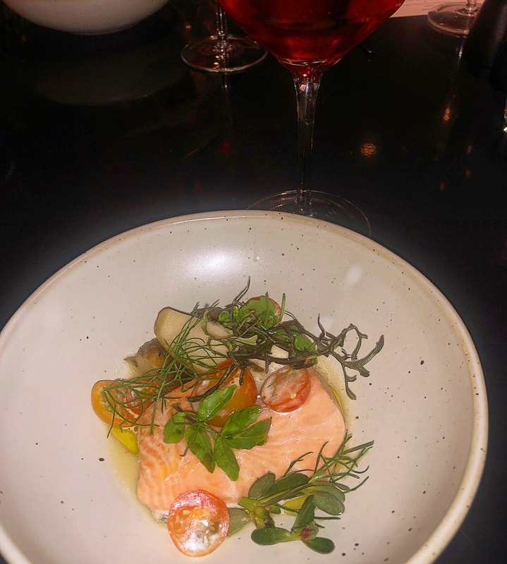 Michelin Guide Dinner Series Salmon