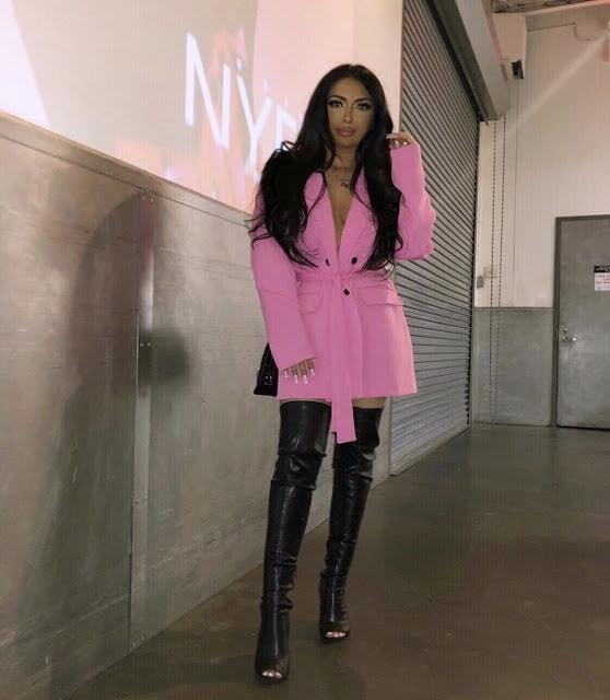 Pink Blazer Dress at Pier 59 Studios